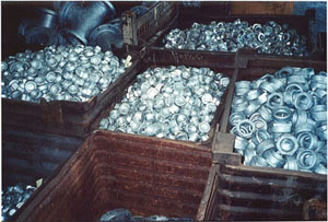 Small Galvanized Parts